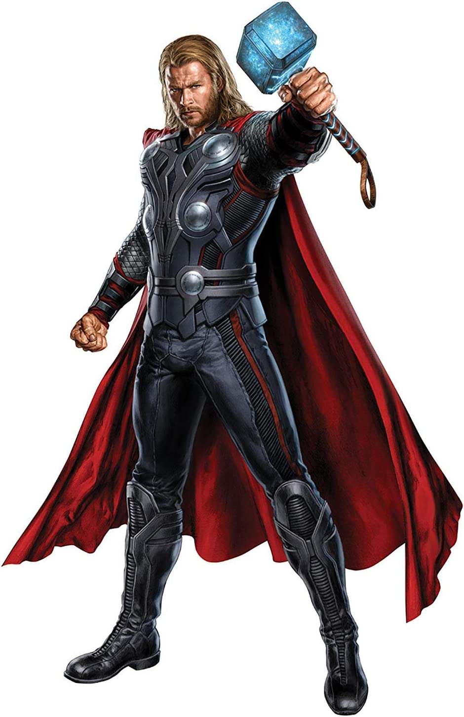 Marvel Superheroes Comic - The Avengers - Thor Odinson - God of Thunder Giant Wall Decal Sticker