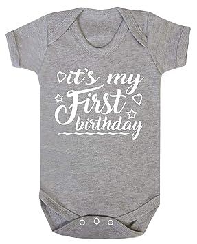 Custom Happy Birthday daddy white long sleeve baby grow rompersuit sleepsuit.