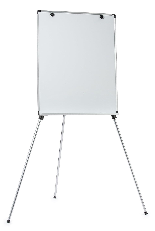 Pizarra blanca magnética ajustable y ligera con caballete, superficie de 71 cm x 89 cm