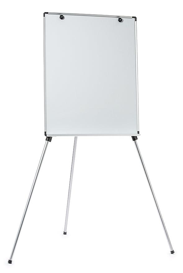 Magnetic Dry-Erase Board Lightweight Aluminum Flip Chart Presentation Easel (28