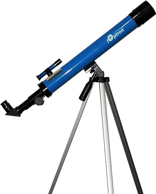 iOptron 6004 iExplore 50AZ Refractor Telescope (Blue)