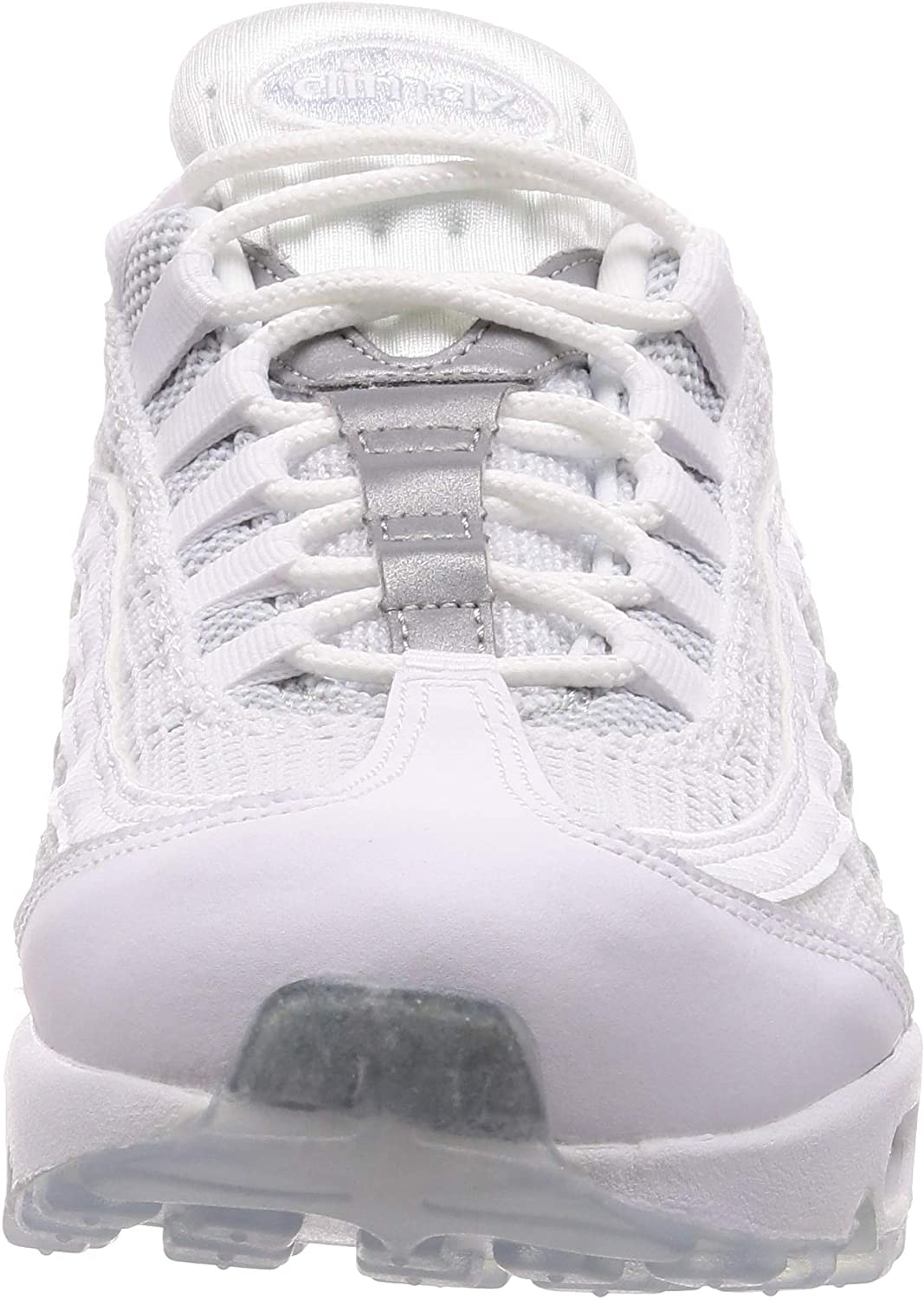 Nike Air Max 95 Essential, Chaussures d'Athlétisme Homme Multicolore White White Pure Platinum Reflect Silver 115