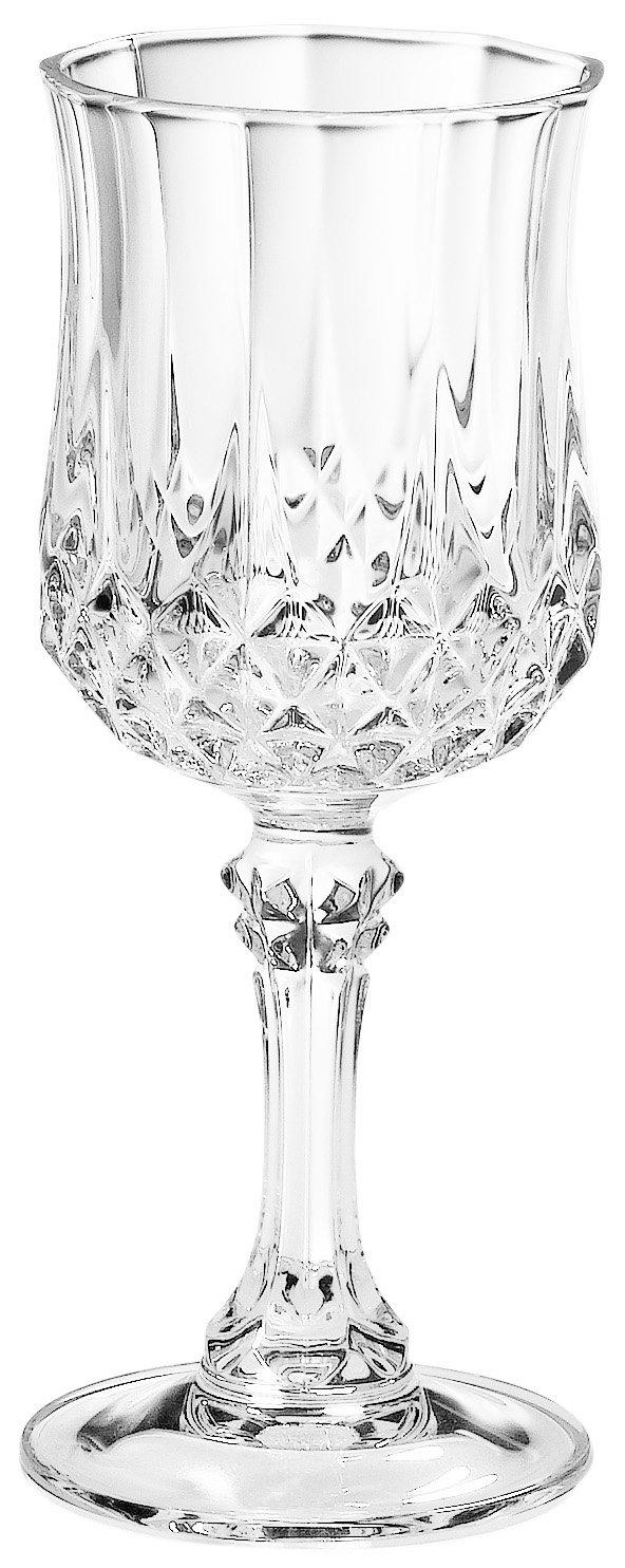 Arc International Cristal D'Arques Longchamp Liqueur Set of 4, 2 Oz