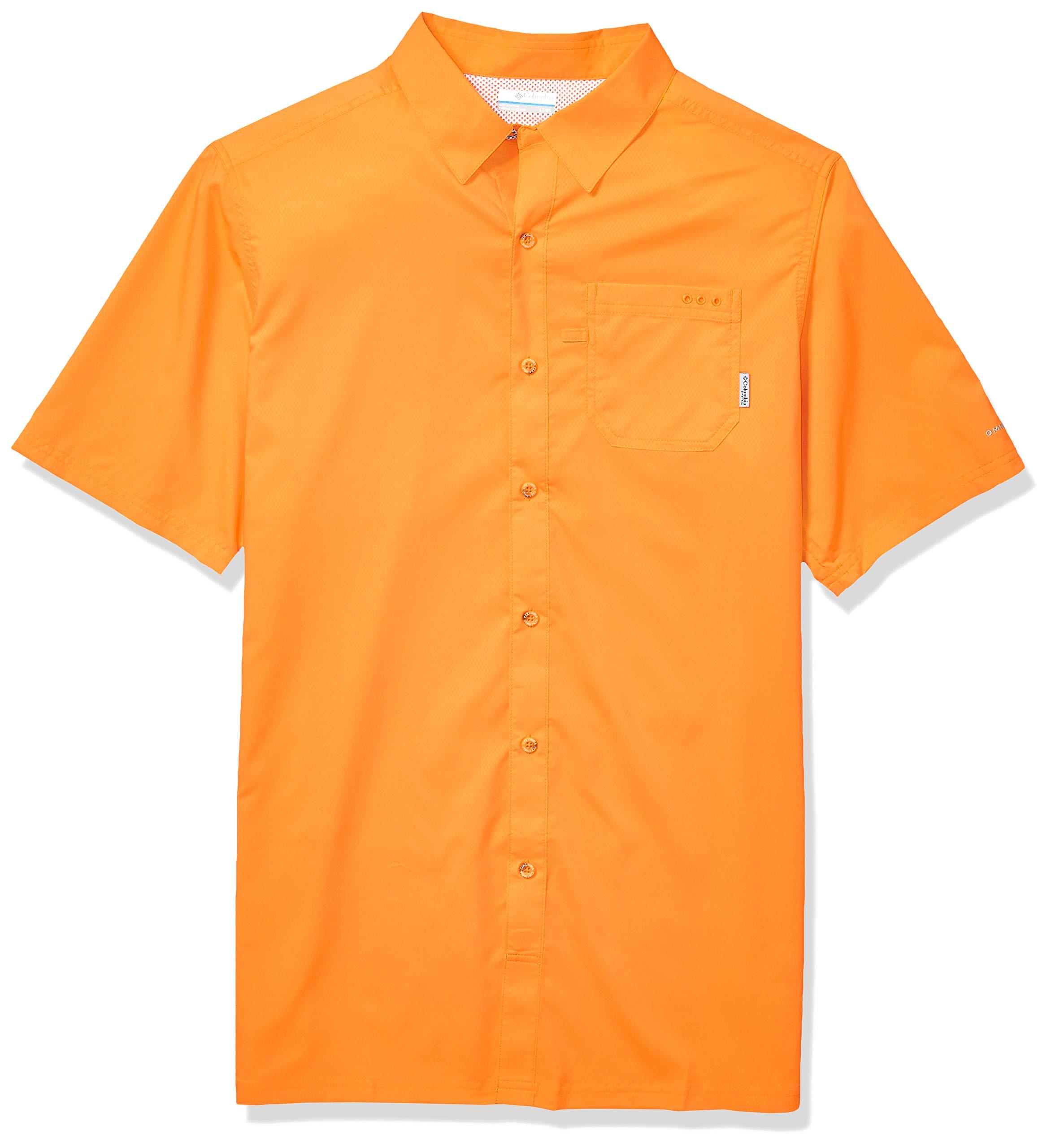 Columbia Men's PFG Slack Tide Camp Shirt , Koi, X-Large by Columbia