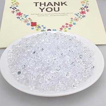 aprince pecera cuentas para crujientes Slime, clara 10,5 onzas (Approx 2930 pcs) perlas de plástico ...