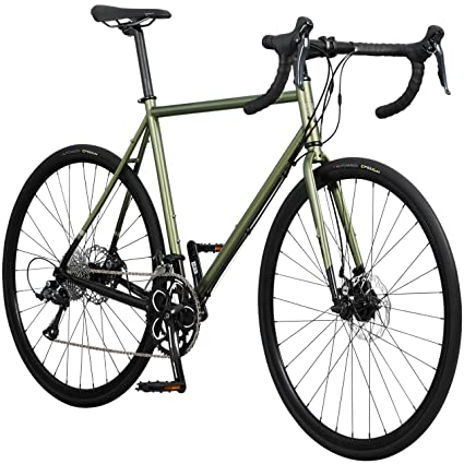 1705529bfba Amazon.com : Pure Cycles Classic 18-Speed Disc Road Bike, 56cm/Large ...