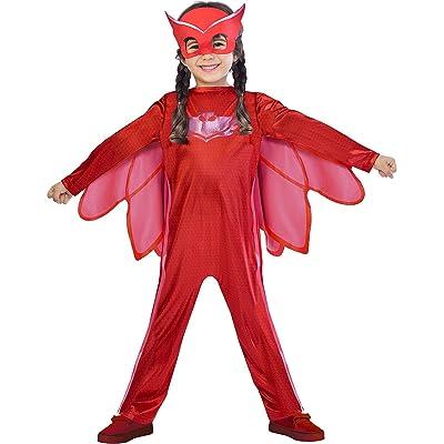 Amscan - Pyjamasques-Costume Bibou 5/6 Ans