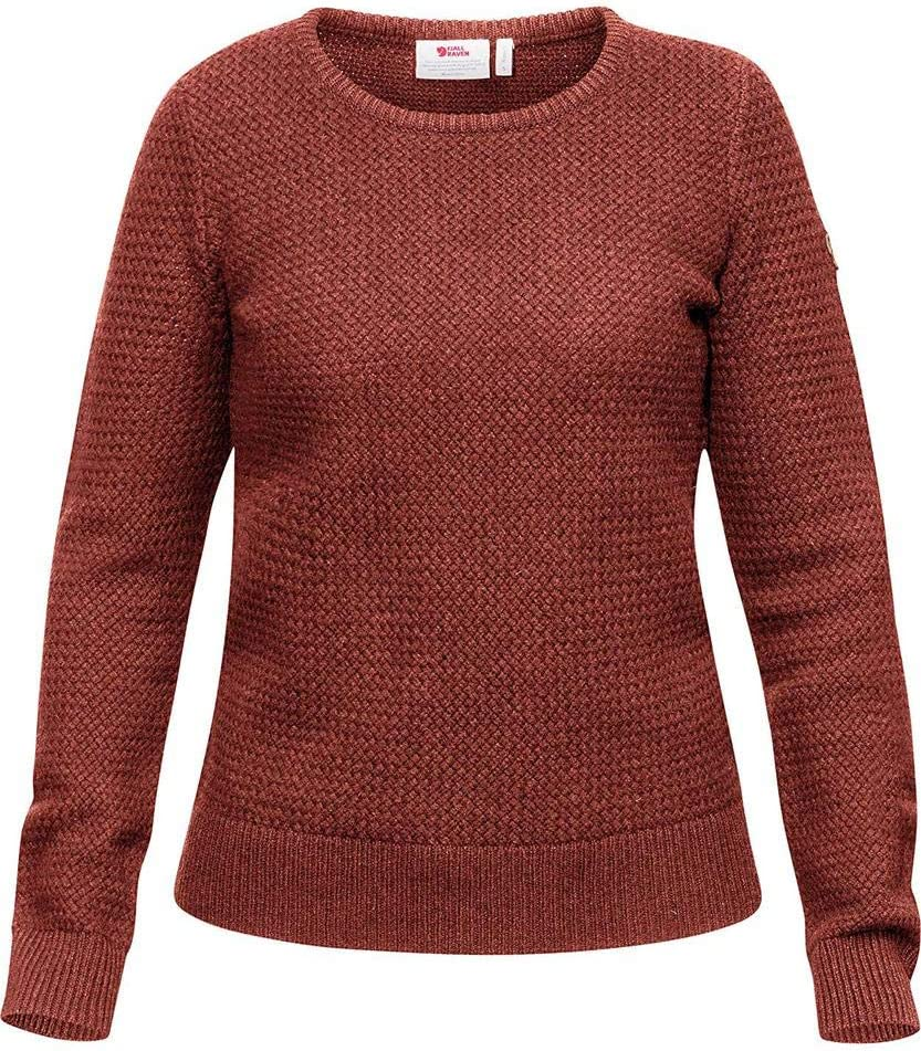 FJALLRAVEN Damen /Övik Structure Sweater W Trikot