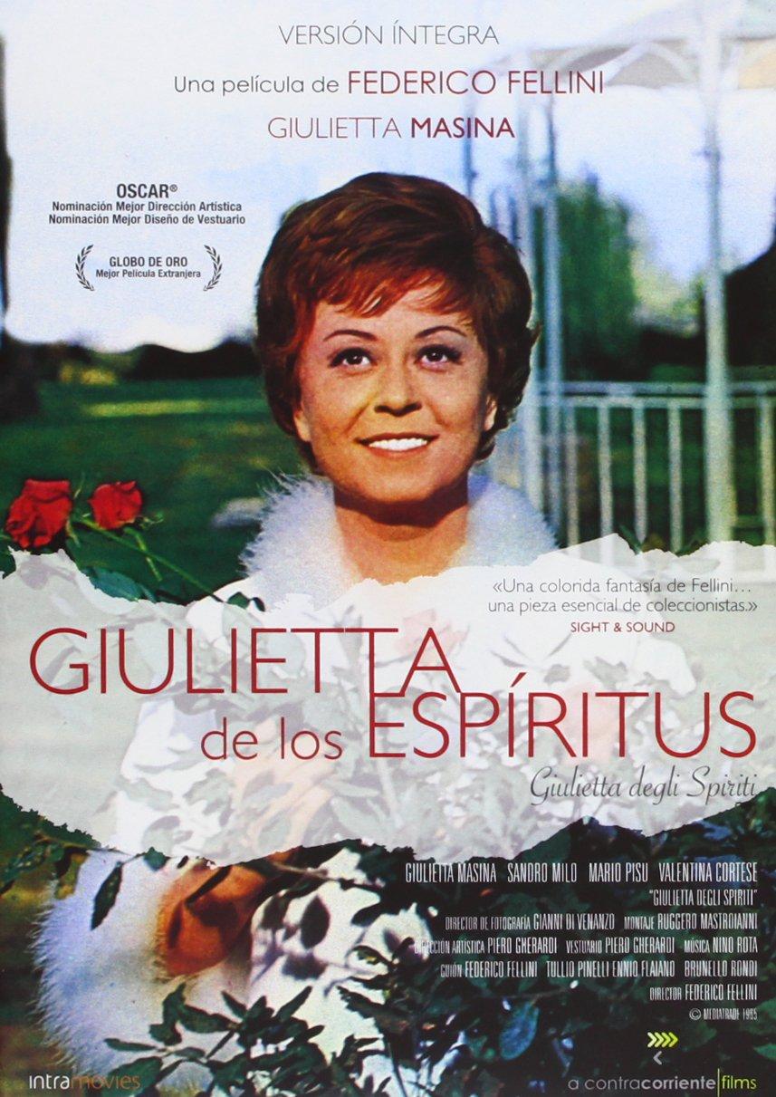 Giulietta De Los Espiritus [DVD]: Amazon.es: Giulietta Masina, Sandra Milo,  Federico Fellini, Giulietta Masina, Sandra Milo, Clemente Fracassi: Cine y  Series TV
