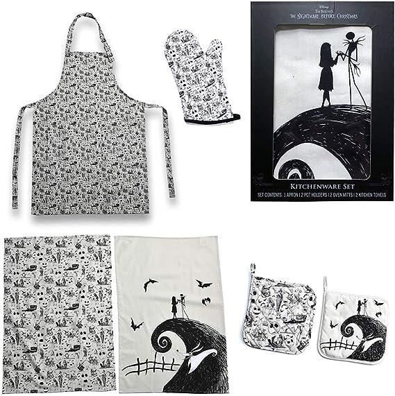 Nightmare Jack Sally Sketch Personalized  3 Piece Bath Towel Set