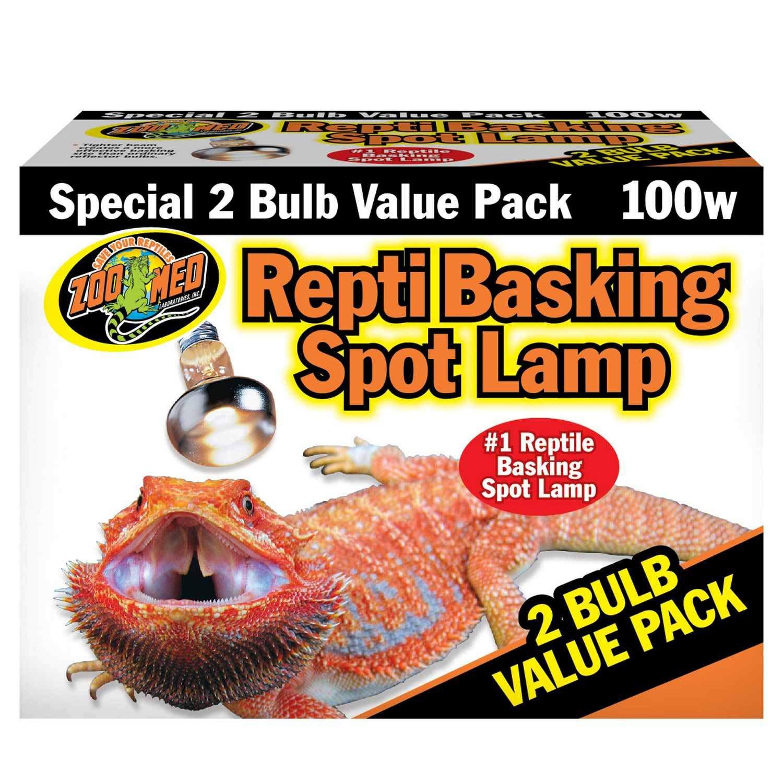 Zoo Med Repti Basking Spot Lamp Value Pack, 100 Watts