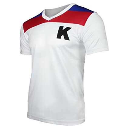 info for d2acf d0ef7 Kickers Fußball-Trikot | Die Kultserie aus der Kindheit für Männer,  Faschingskostüm & Mallorca Outfit Nostalgie T-Shirt | Perfekte Geschenkidee