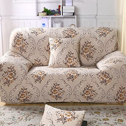 Delicieux LVYING Furniture Protector Stretch Sofa Covers Non Slip Slipcovers Floral  Towel Covering Elastic Sofa Couch Cover