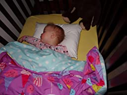 Amazon Com Little Sleepy Head Toddler Pillow White 13 X