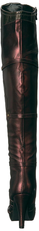 Ellie Shoes Women's 414-Wonder Boot B06Y55RLKX 6 B(M) US Red