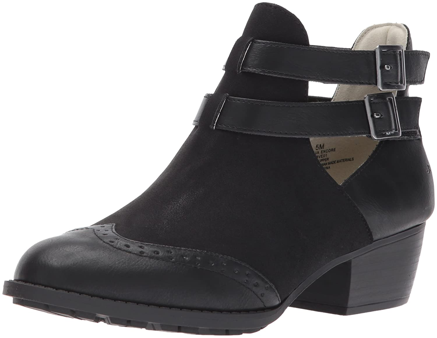 JBU by Jambu Women's Brava Encore Ankle Bootie B06XF1VQCF 9 B(M) US|Black