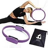 avidollo Pilates Ring, Fitness Circle - Full Body Toning Magic Circle Weight Loss Body Circle and High Resistance Exercise Fi