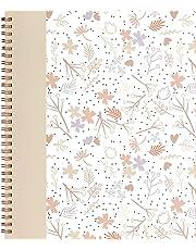 Emma Verde Coil Bound Notebook, Floral, 140 Pages, 1.27 cm x 21.90 cm x 26.60 cm (89226)