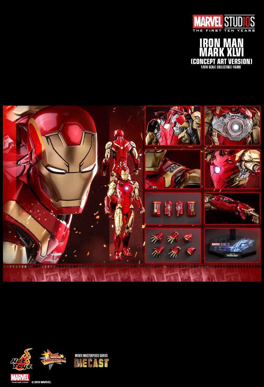 Hot Toys MMS489D25 - Marvel Comics - Iron Man Mark XLVI