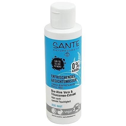 SANTE - Tónico facial refrescante sin alcohol con semillas de aloe ...