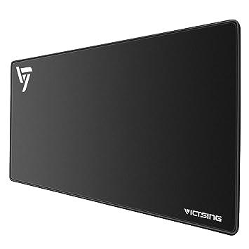 VicTsing Alfombrilla Raton Ordenador Gaming XXL, Gaming Mouse Pad (800 x400 x 2.5 mm), Resistente al Agua y Base Antideslizante, para Gamers, PC y Portátil: ...