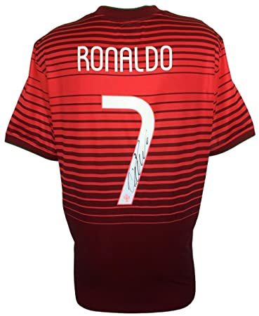 Cristiano Ronaldo Signed 2014 Nike Portugal National Team Soccer Jersey  Icons 972c7bf6d
