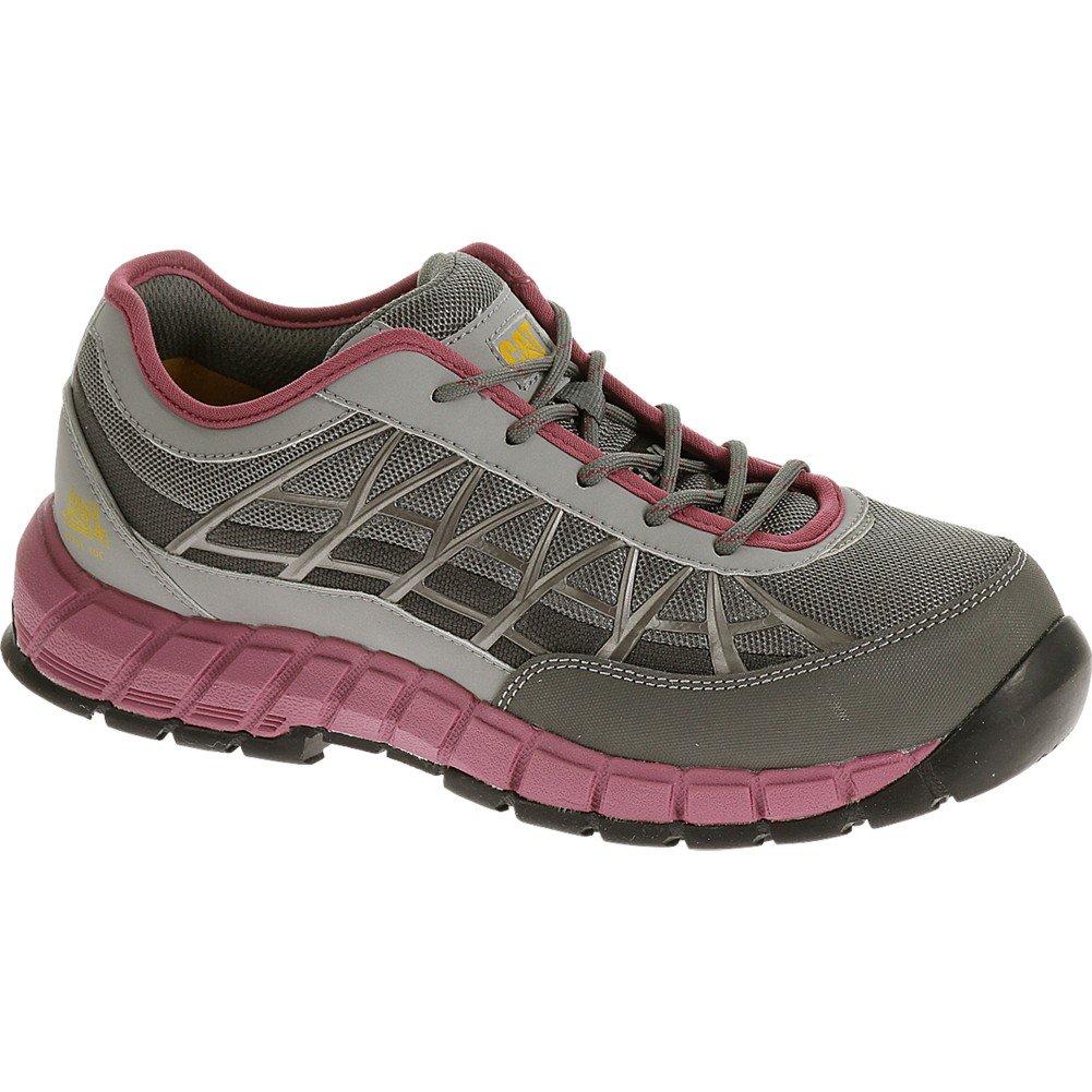 Women's Caterpillar Womens Connexion Steel Toe Work Shoe (8 W in Grey)