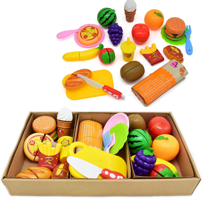 2a11d10dc6139 Tomons Kids Pretend Food Toys