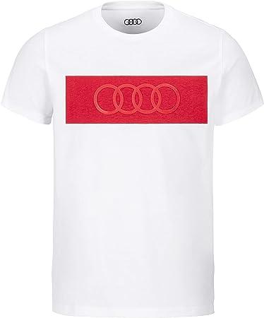 Camiseta para hombre de Audi. blanco Blanco xxx-large: Amazon.es: Ropa y accesorios