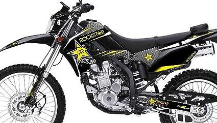 Amazon.com: Kawasaki KLX 250 Custom Sticker Graphic Decals Kits RR ...