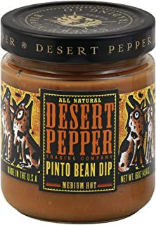 product image for Desert Pepper Trading Company Pinto Bean Dip, Medium Hot, 16-Ounce (Pack of 6)