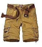 Match Men's Twill Cargo Shorts #S3612