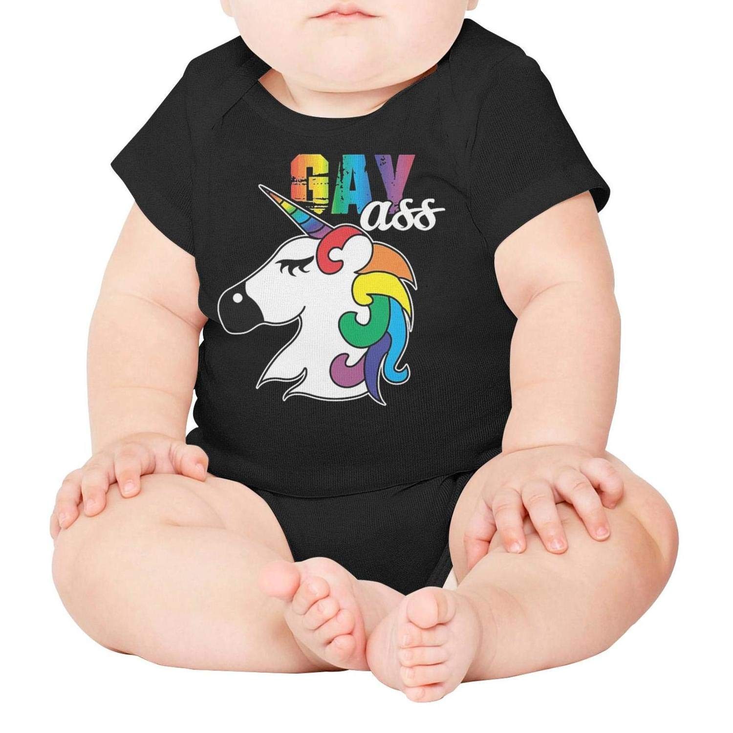 Love is Love Inspirational Gay Pride Baby Onesies Bodysuit Jumpsuits One-Piece Cotton Short Sleeve