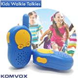Walkie Talkies For Kids Durable Spy Kit Gears Talking Games Electronics Two Way Radio Toys Yard Camping Advent For Boys Children Toddler 7 8 9 Years Fun Presents Christmas Birthday Gift Ideas KOMVOX