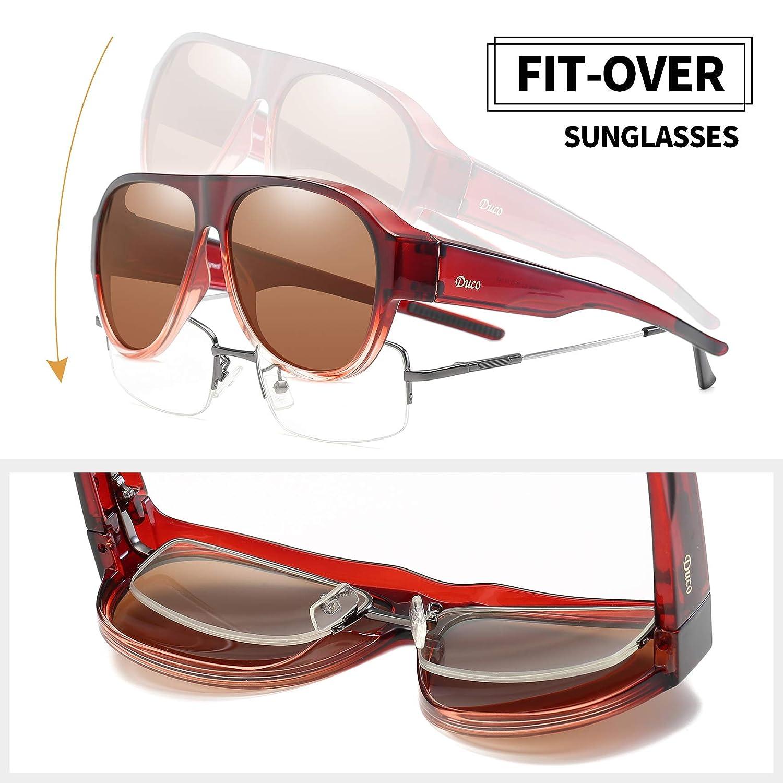 Amazon.com: DUCO Pilot Style 8959 Gafas de sol polarizadas ...