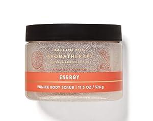 Bath and Body Works Aromatherapy Energy Orange Ginger Body Scrub Exfoliate Polish 11.5 Ounce