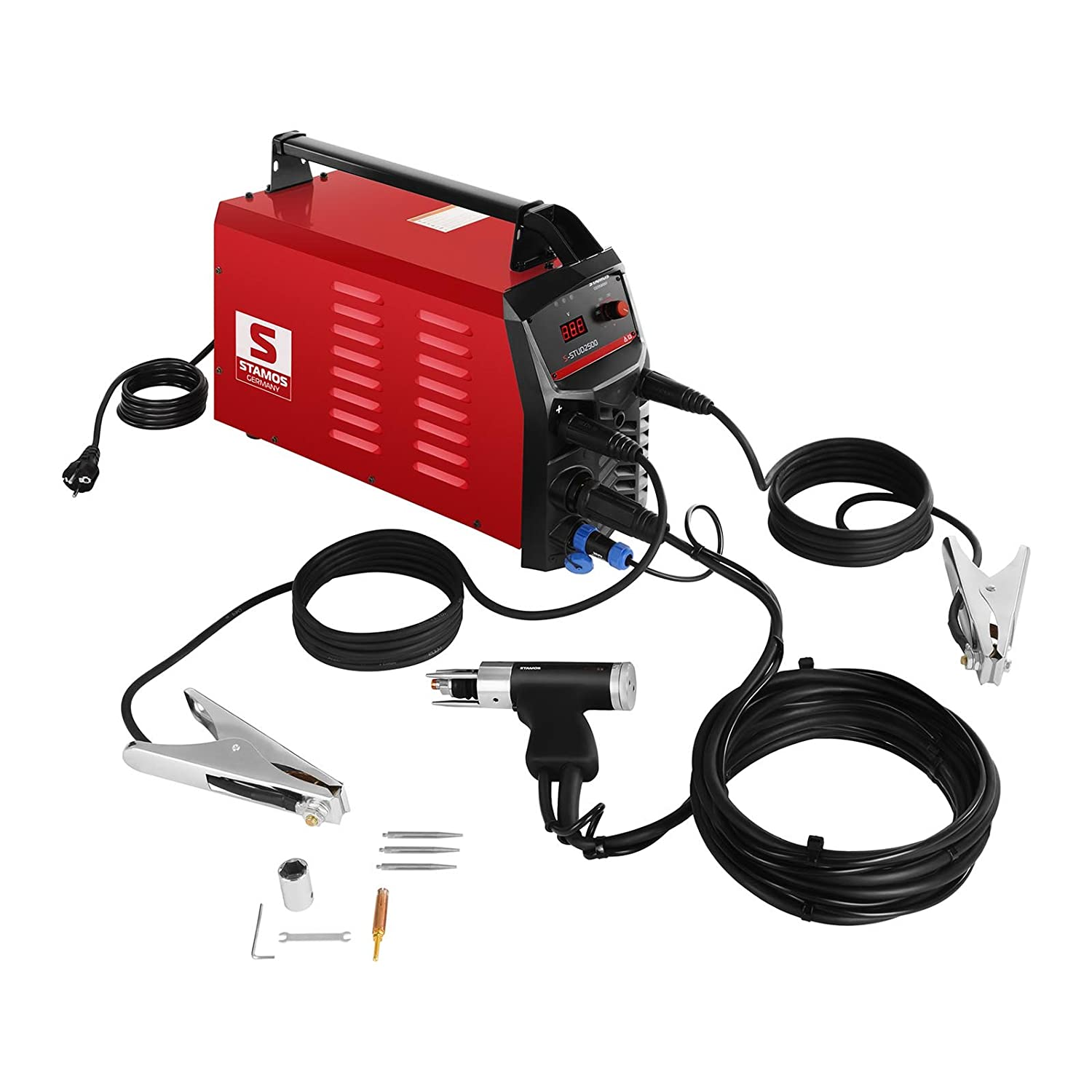 Stamos Germany S Stud2500 Stud Welder 2500 J 108000 F Pin Igbt Circuit Of Welding Equipment China Arc Welders For Sale On Diy Tools