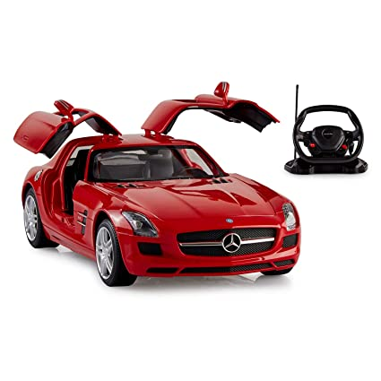 Buy Toyscentral Mercedes Benz Sls Amg 1 14 Scale Remote Controlled