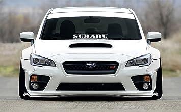 SUBARU Sticker 23u0026quot; Windshield JDM Impreza WRX STI BRZ Lowered Car  Subaru Decal