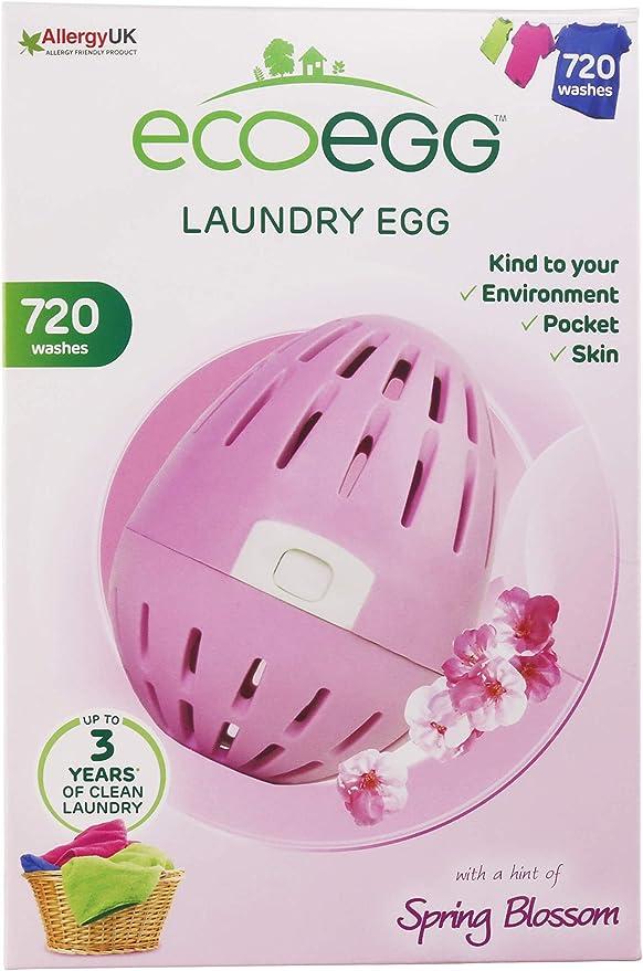 Ecoegg - Detergente ecológico en Perlas para Lavar la Ropa (hasta ...