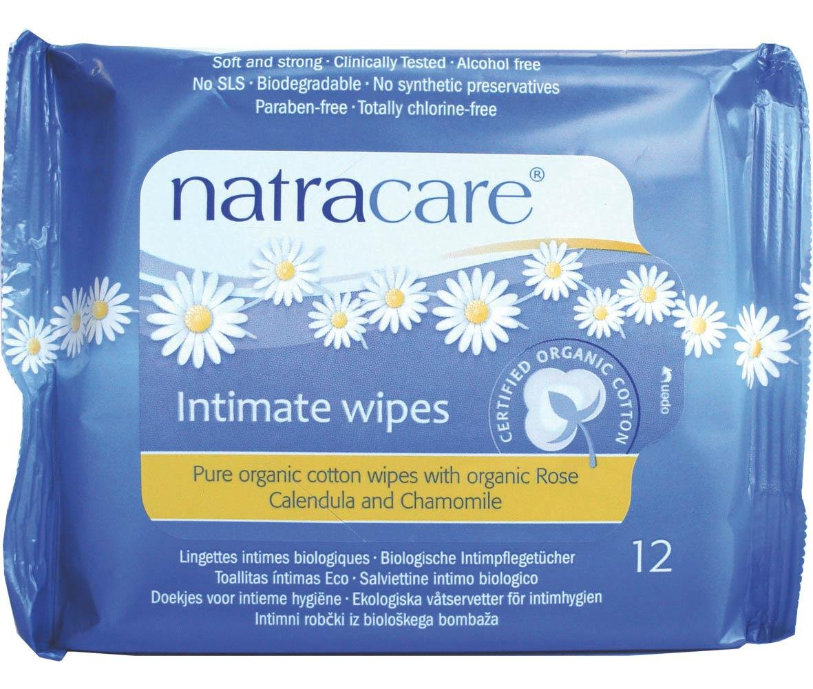 Natracare Feminine Intimate Wipes Organic 12 Count by NATRACARE (Image #1)