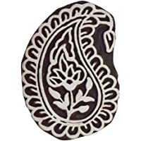 Asian Hobby Crafts Wooden Printing Hand-Carved Stamp Block (3-inch)