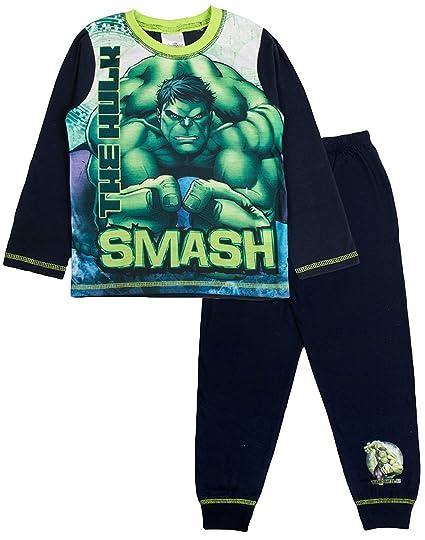 Hulk Avengers - Pijama dos piezas - para niño verde Green / Black / Multicoloured 9