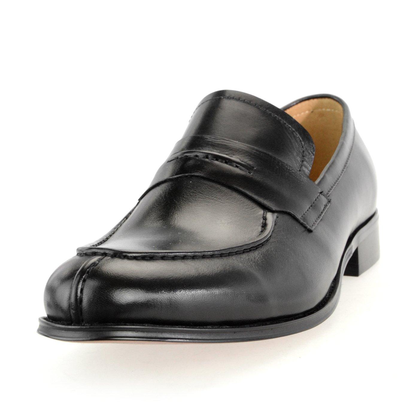 [ルシウス] LUCIUS 20種類から選ぶ 牛革 革靴 スリッポン ローファー クロコダイル 型押し タッセル カジュアル ビット メンズ ビジネス B076DPG6NJ 26.0 cm 3E|628-39 ブラック 628-39 ブラック 26.0 cm 3E