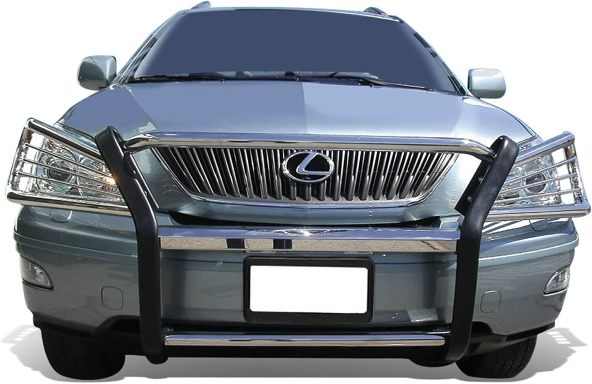 RX350 Black For RX330 RX400h Front Bumper Protector Brush Grille Guard