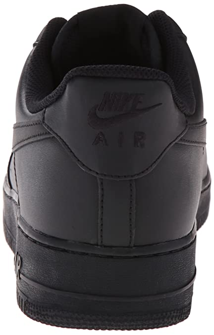 00df6020467 Nike Mens Air Force 1 07 QS Basketball Shoes Black