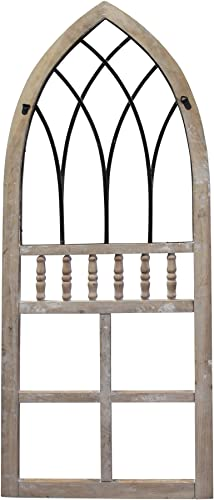Stratton Home D cor Stratton Home Rustic Wall Decor Arched Panel