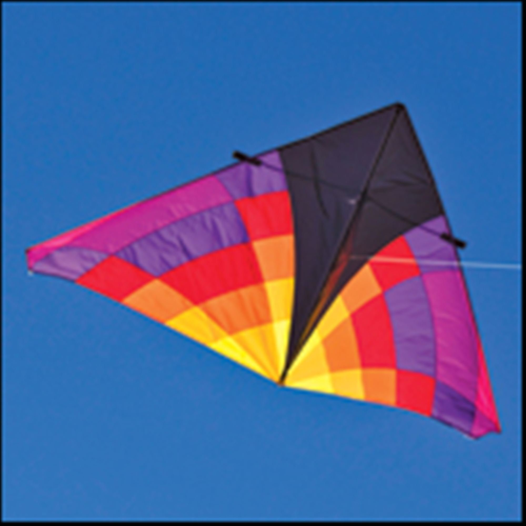 Into The Wind 9-ft. Levitation Ember Single Line Delta Kite by Into The Wind (Image #1)
