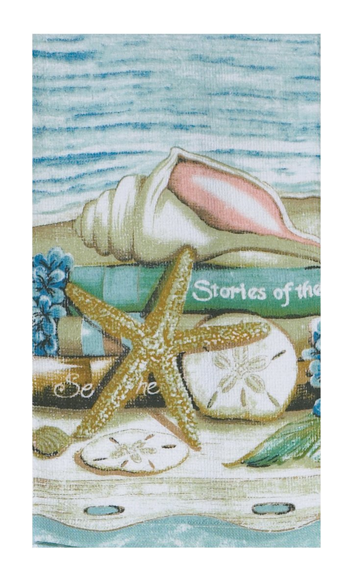 Amazon.com: Kay Dee Designs V0070 Stories of The Sea Terry Towel ...