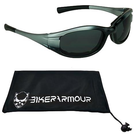 Amazon.com: anteojos de sol para motocicleta, con espuma ...